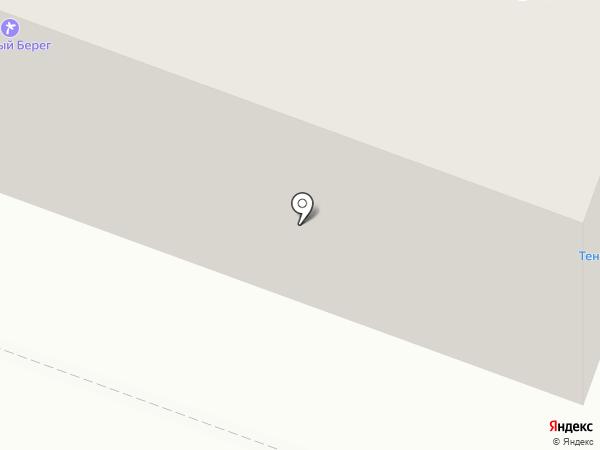 Южный Берег на карте Йошкар-Олы