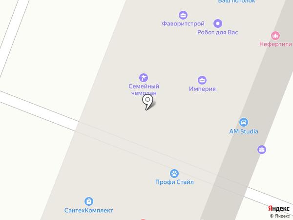 Центр флористики на карте Йошкар-Олы