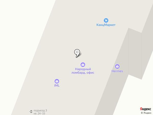Автовоз на карте Йошкар-Олы