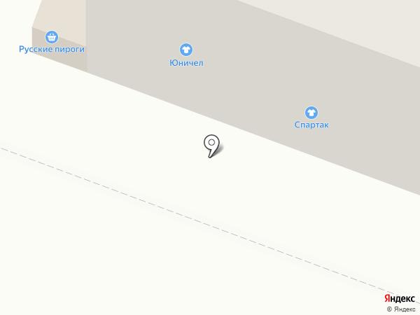 Спартак на карте Йошкар-Олы