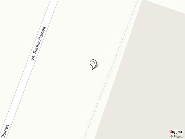 Антенная служба, МКП на карте Йошкар-Олы