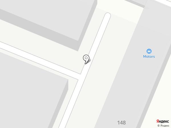 Моторс на карте Йошкар-Олы