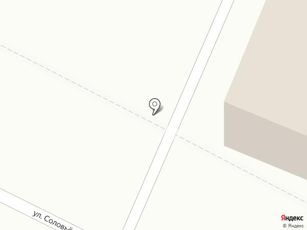 Магазин хлебобулочных изделий на карте Йошкар-Олы