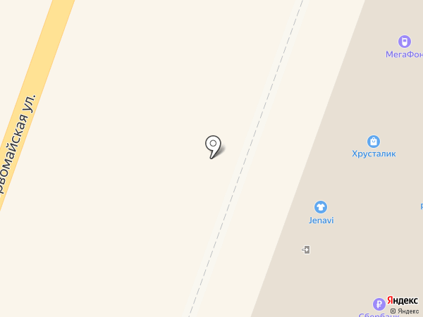 Магазин женской одежды на карте Йошкар-Олы