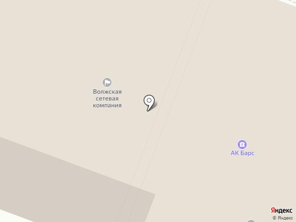 Серенити на карте Йошкар-Олы