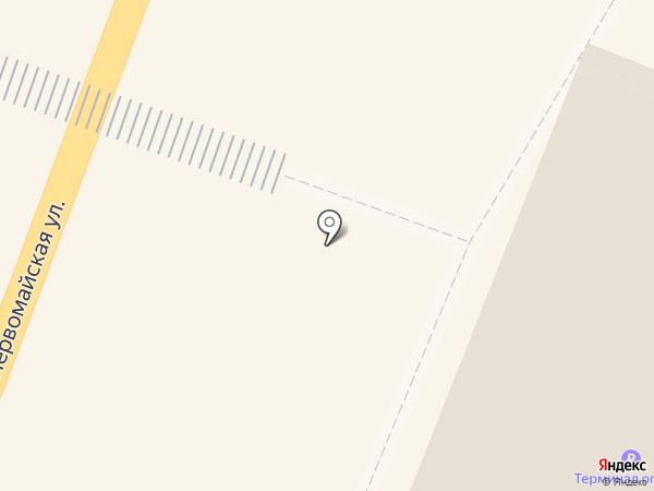 Лапоток на карте Йошкар-Олы