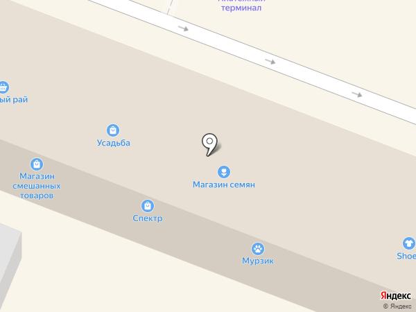 Мурзик на карте Йошкар-Олы