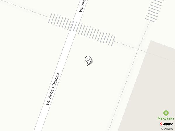 Максавит на карте Йошкар-Олы