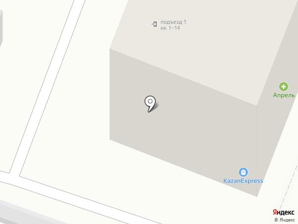 Ма бэль на карте Йошкар-Олы