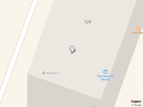 Магазин постельного белья на карте Йошкар-Олы