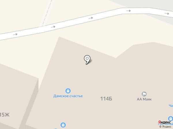 Магазин корсетов и нижнего белья на карте Йошкар-Олы