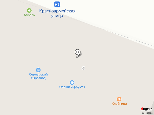 Хлебница на карте Йошкар-Олы