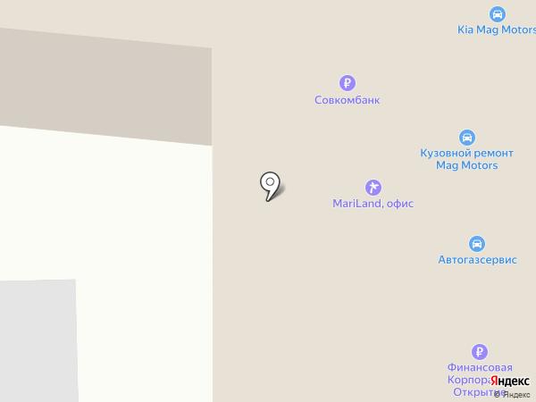 КлYOвое место на карте Йошкар-Олы