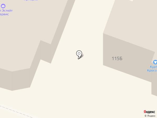 Мебельград на карте Йошкар-Олы