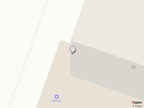 Рубеж на карте Йошкар-Олы