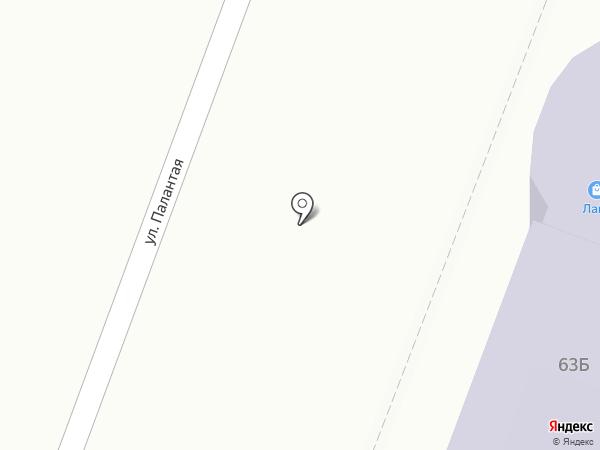 Контора на карте Йошкар-Олы