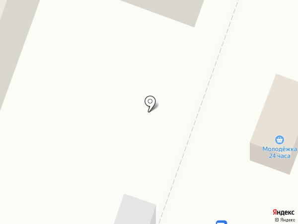 Молодежный на карте Йошкар-Олы