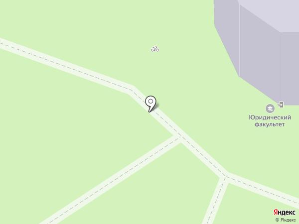 Марийский государственный университет на карте Йошкар-Олы