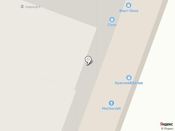Магазин текстиля на карте Йошкар-Олы