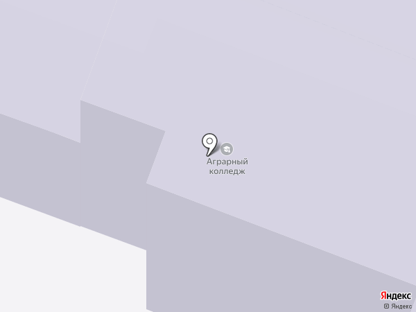 Йошкар-Олинский аграрный колледж на карте Йошкар-Олы