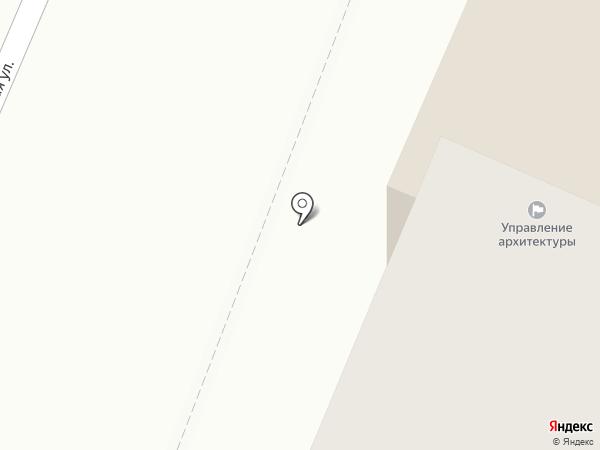Архитектор, МУП на карте Йошкар-Олы