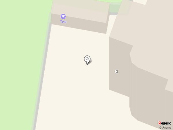 Церковь Тихвинской Иконы Божьей Матери на карте Йошкар-Олы