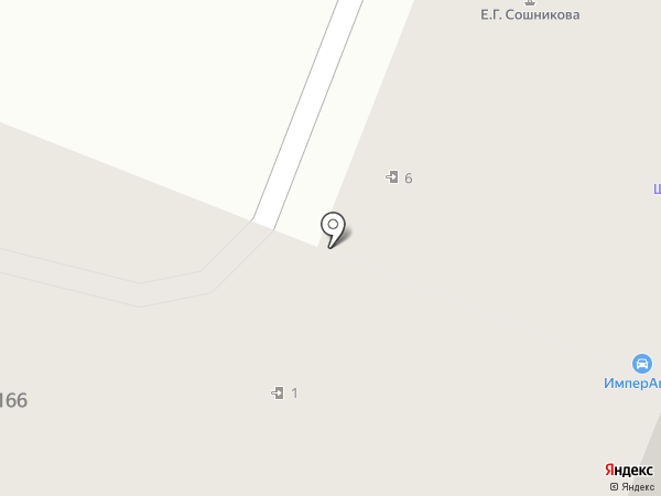 ИмперАвто на карте Йошкар-Олы