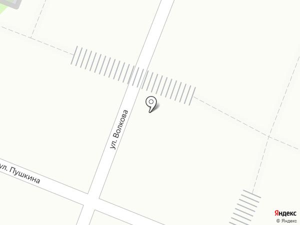 Магазин трикотажных изделий на карте Йошкар-Олы