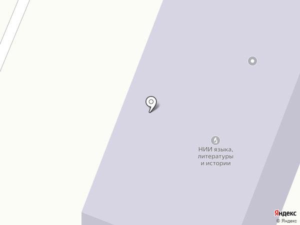 Марийский НИИ языка, литературы и истории им. В.М. Васильева на карте Йошкар-Олы