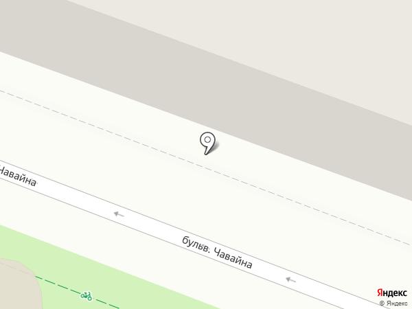 Отдел военного комиссариата Республики Марий Эл по г. Йошкар-Оле на карте Йошкар-Олы