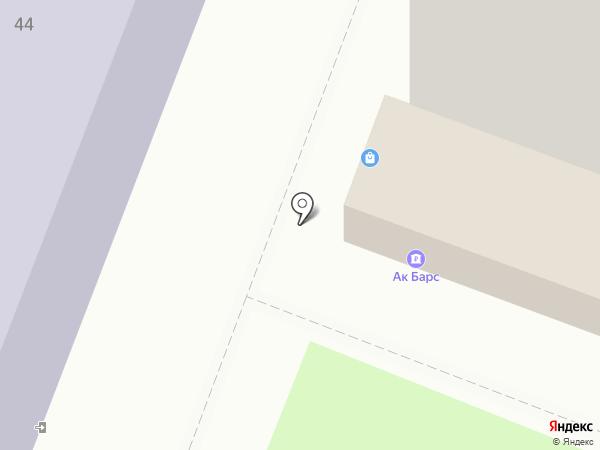 Банкомат, АК Барс банк, ПАО на карте Йошкар-Олы