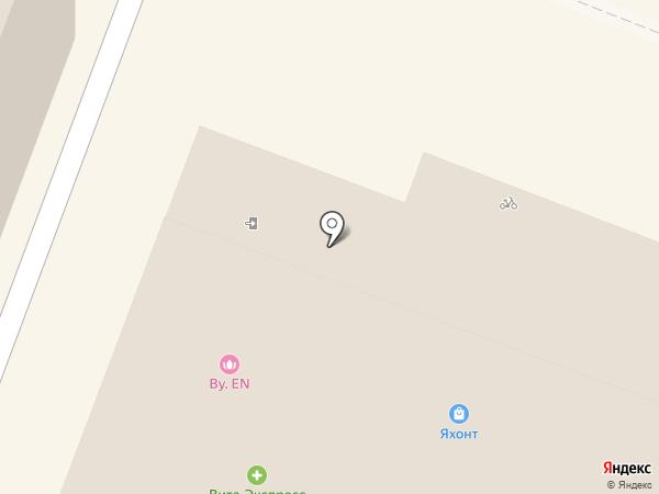 Бижу на карте Йошкар-Олы