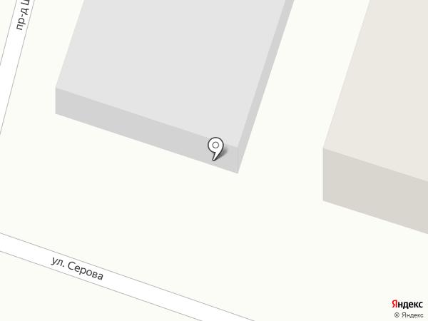 Автоцентр на карте Йошкар-Олы