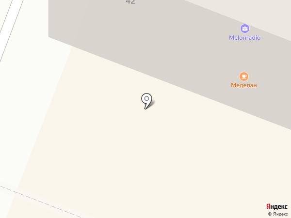 Меделан на карте Йошкар-Олы