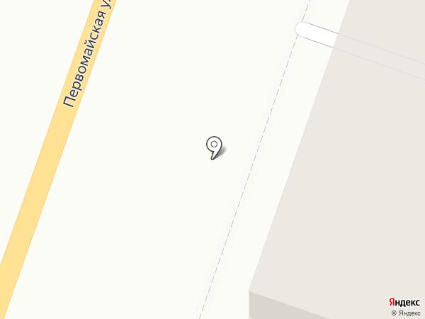 Домостроительный комбинат №5 на карте Йошкар-Олы