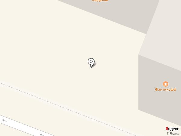 Меделан Night на карте Йошкар-Олы