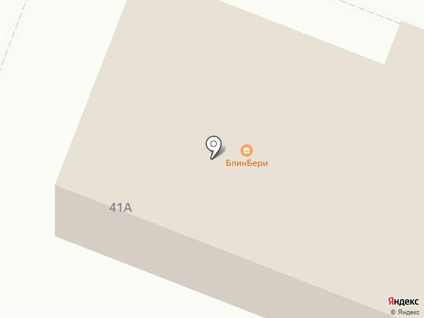 Пингвин на карте Йошкар-Олы