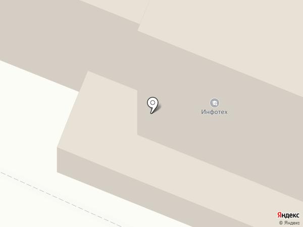 Инфотех на карте Йошкар-Олы