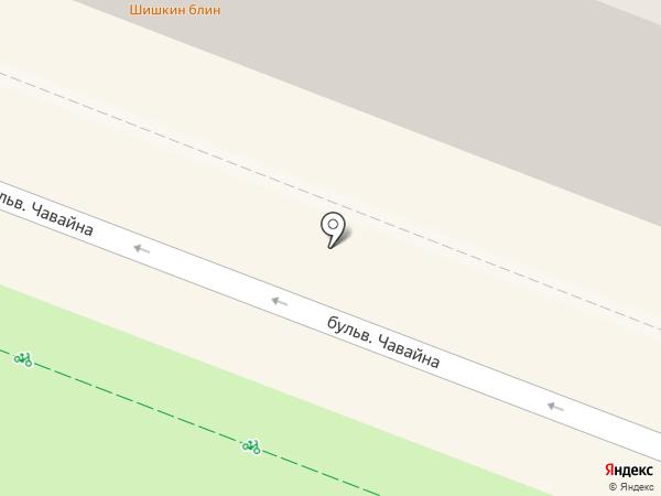Неглиже на карте Йошкар-Олы