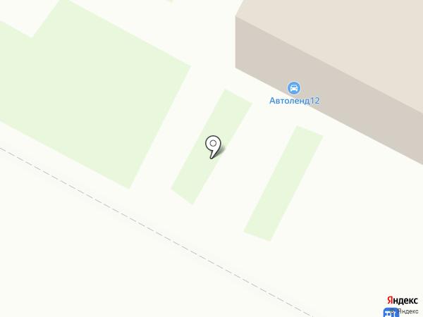 Мистер Сом на карте Йошкар-Олы
