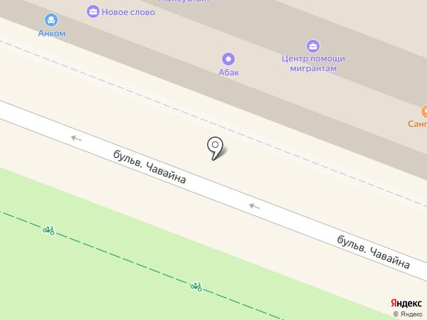 ВРозетке на карте Йошкар-Олы