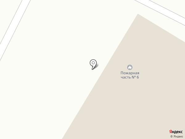 Пожарная часть №6 на карте Йошкар-Олы