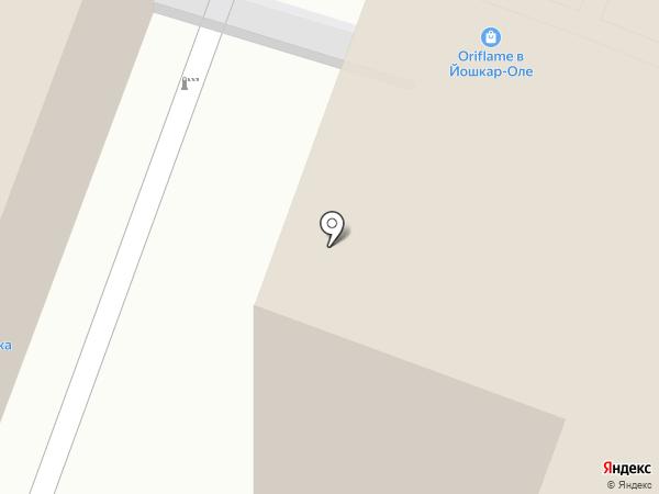 Местное время Марий Эл на карте Йошкар-Олы