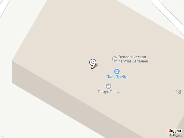 МД-Трейд на карте Йошкар-Олы