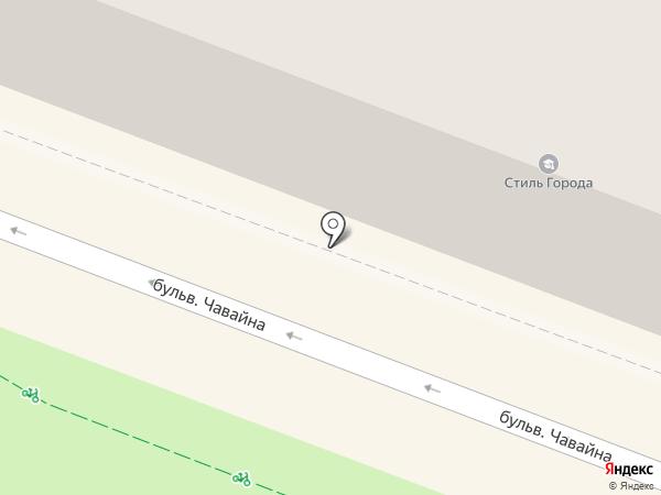 Деви на карте Йошкар-Олы