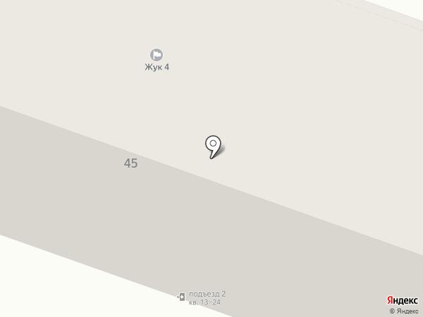 Дорожник на карте Йошкар-Олы