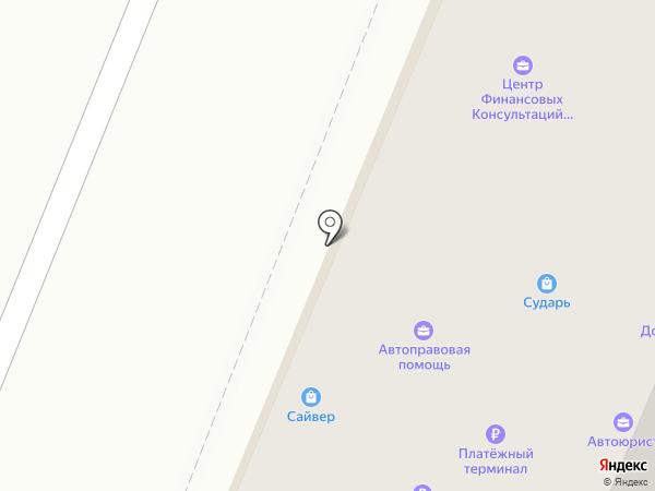 Автоюрист на карте Йошкар-Олы