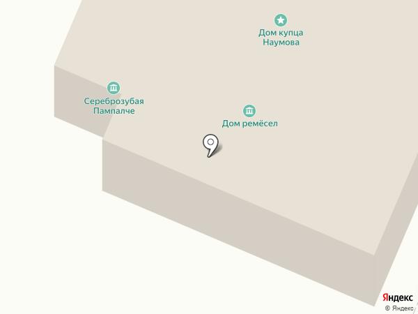 Царевококшайский Кремль на карте Йошкар-Олы