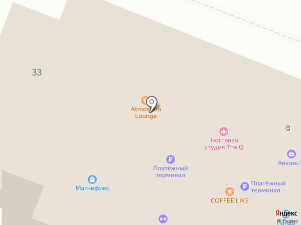 CHESNOK lounge на карте Йошкар-Олы