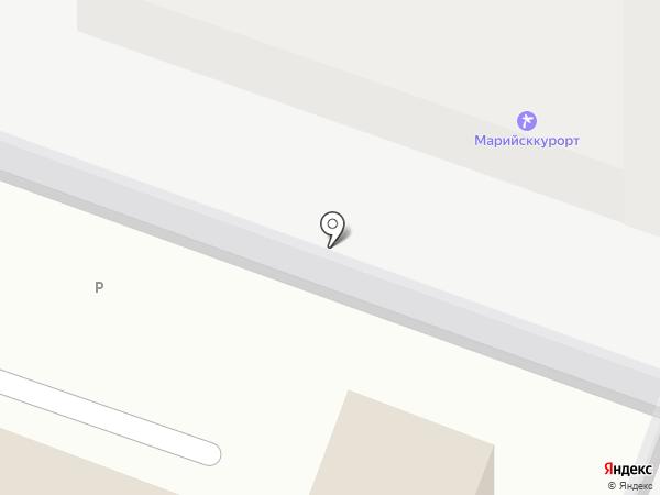 МариСтройСтандарт на карте Йошкар-Олы
